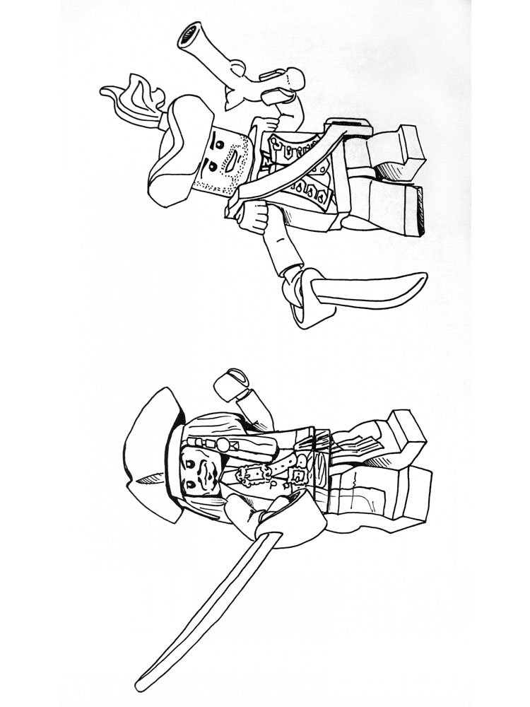Lego Pirates Coloring Pages Free Printable Lego Pirates Lego Coloring Pages For Boys Free