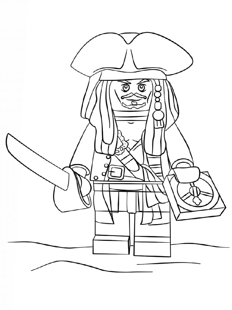 lego color page - lego pirates coloring pages free printable lego pirates