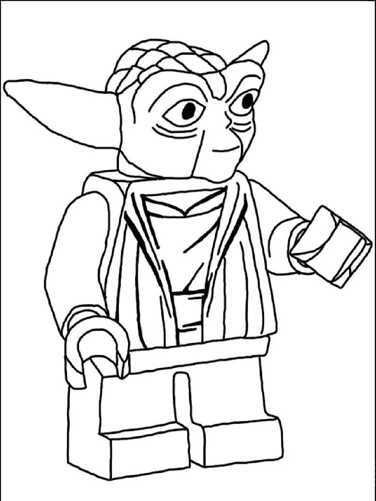 Lego Star Wars Coloring Pages Free Printable Lego Star