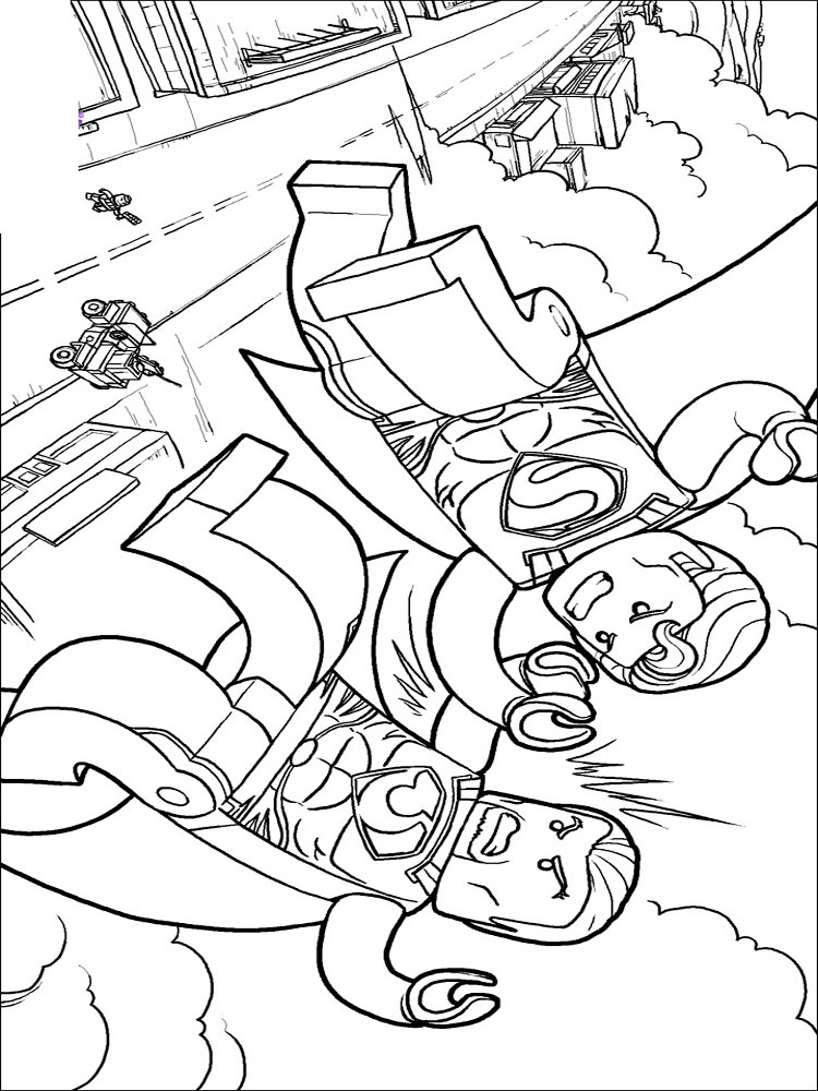 Lego, Superman coloring pages. Free Printable Ant Man ...