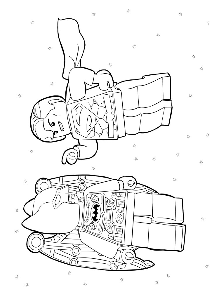 Lego Superman Coloring Pages Free Printable Ant Man