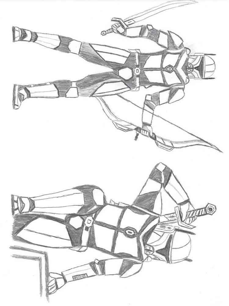 Mandalorian coloring pages. Free Printable Mandalorian ...