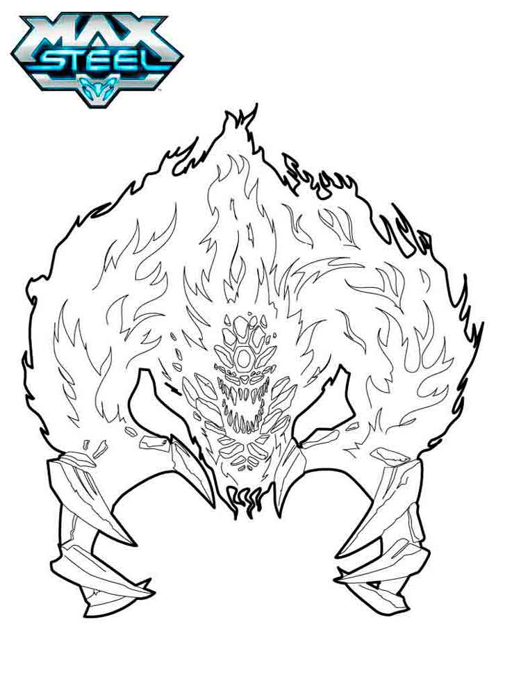 Max steel coloring pages. Download and print Max steel ...