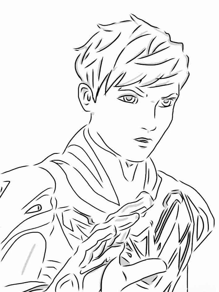 max steel coloring pages 10