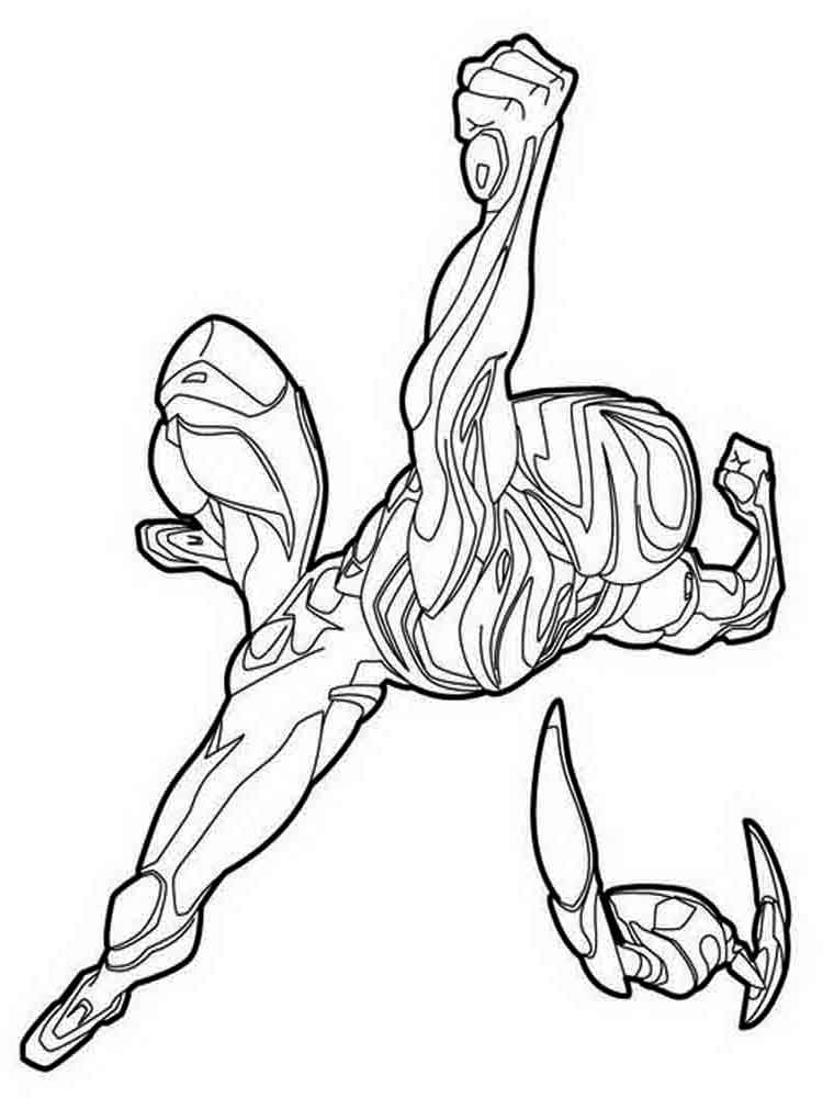 max steel coloring pages 16