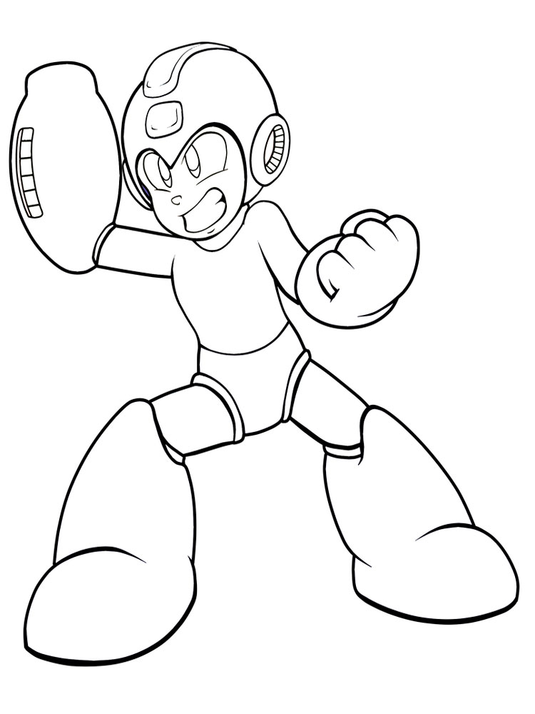 Mega Man coloring pages. Free Printable Mega Man coloring pages.