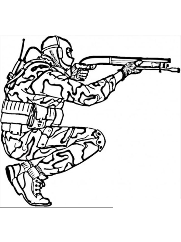 child army coloring pages - photo#40