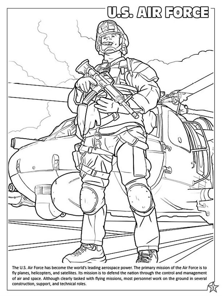 Military coloring pages free printable military coloring for Free army coloring pages