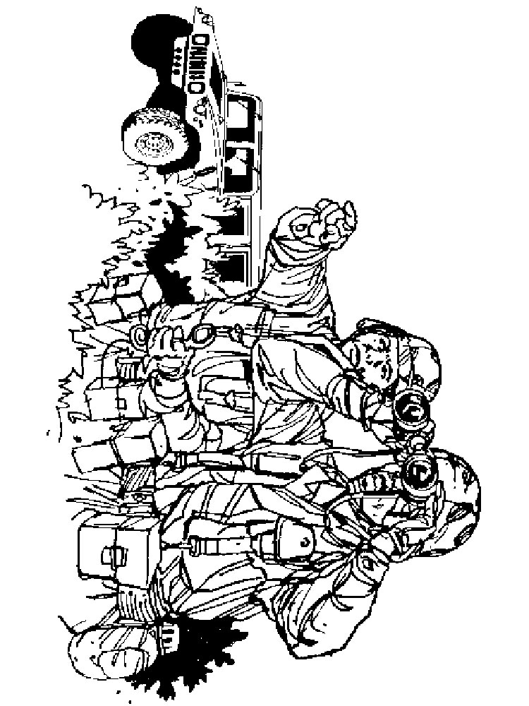 Military Coloring Pages Free Printable Military Coloring