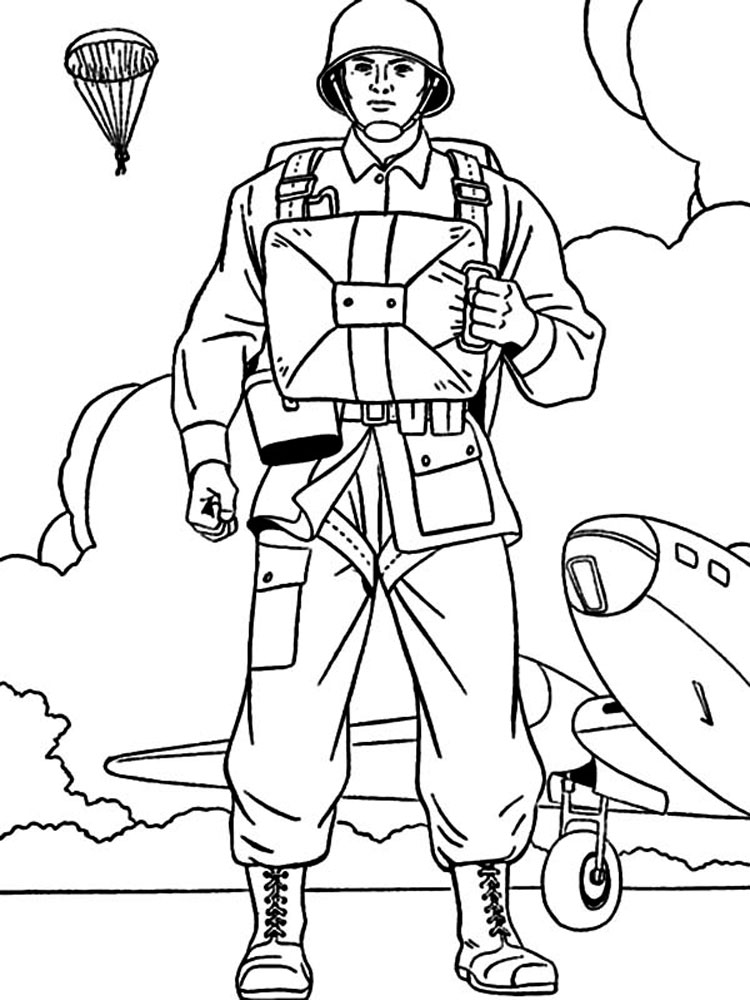 child army coloring pages - photo#41