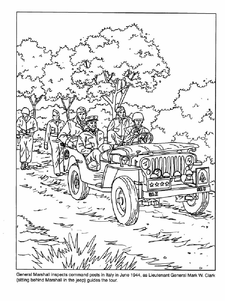 Military Coloring Pages For Boys 8