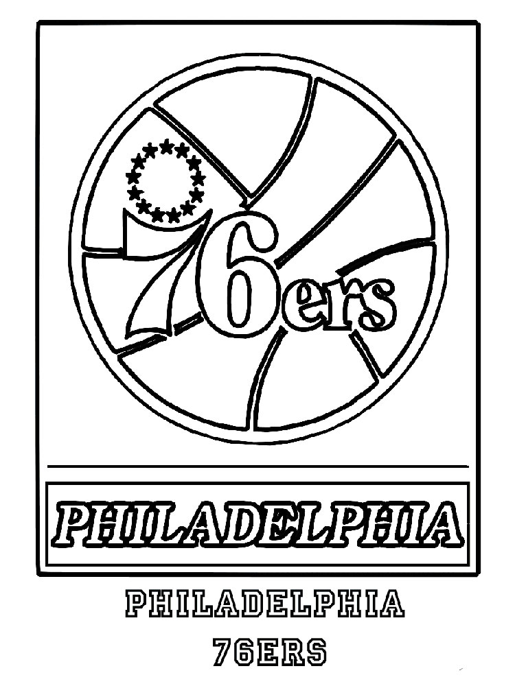 94 Coloring Pages Nba