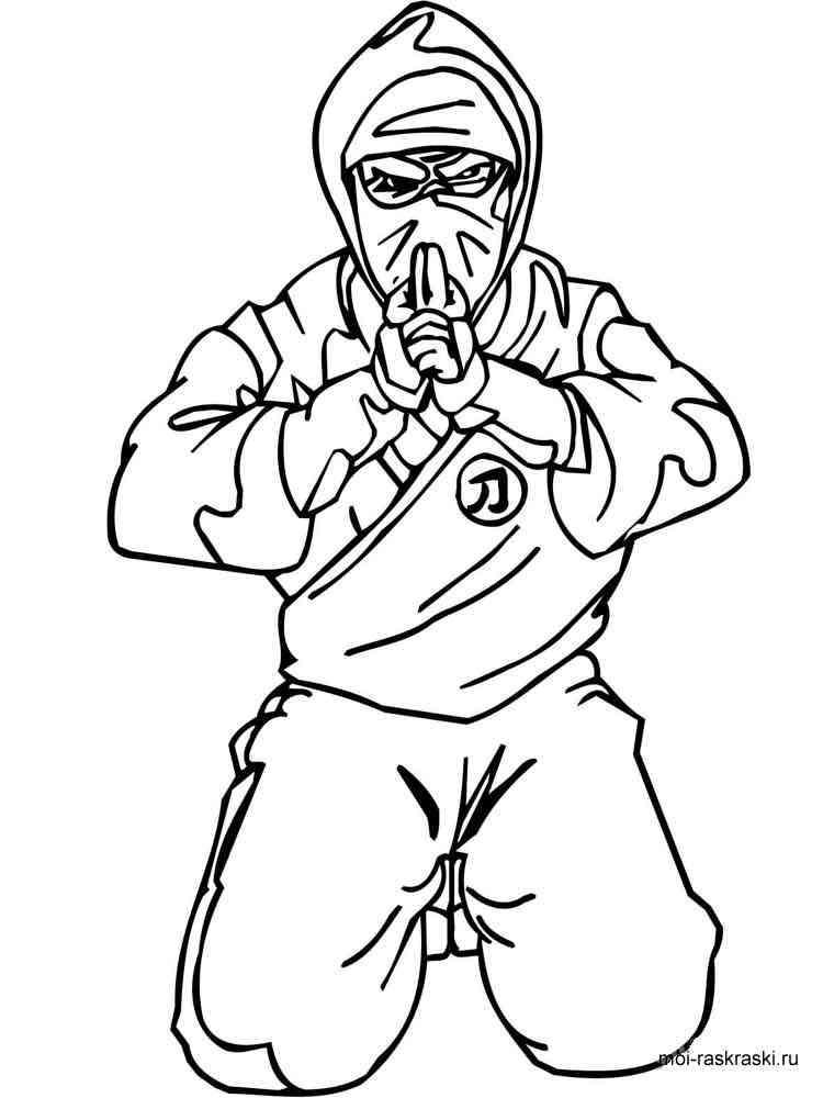 Ninja coloring pages Free Printable Ninja coloring pages