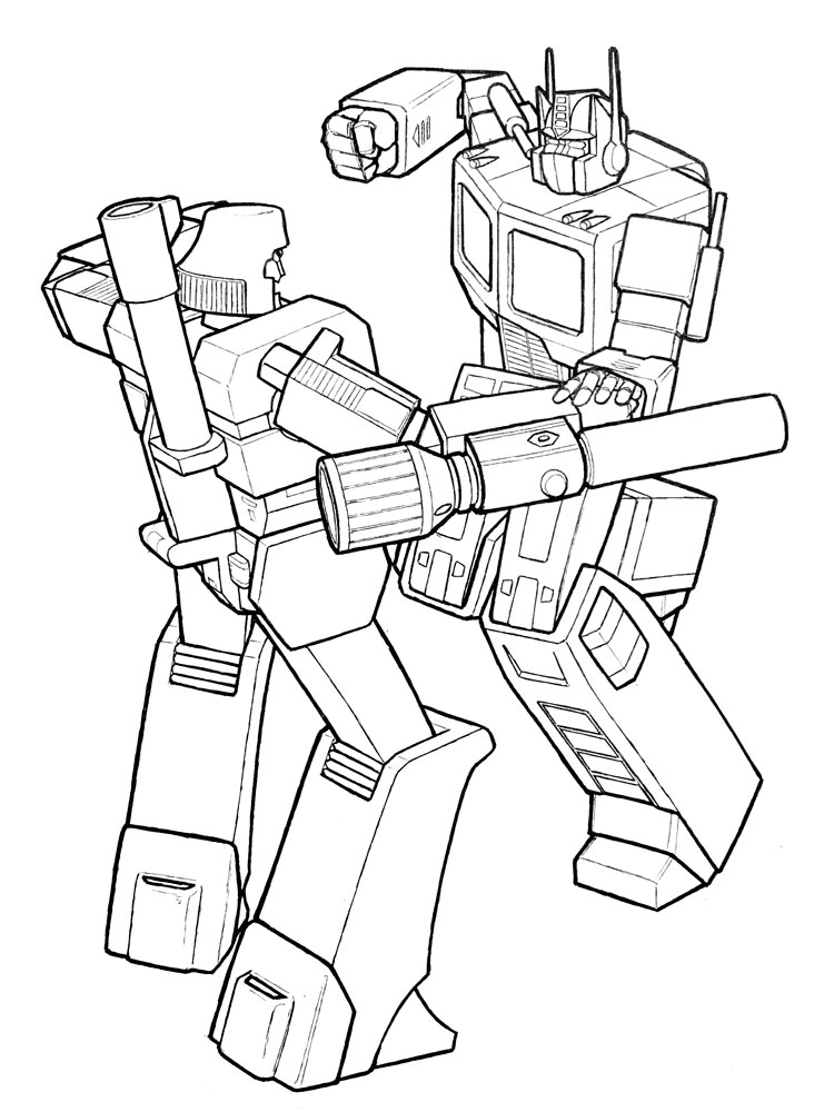 Optimus Prime coloring pages. Free Printable Optimus Prime ...