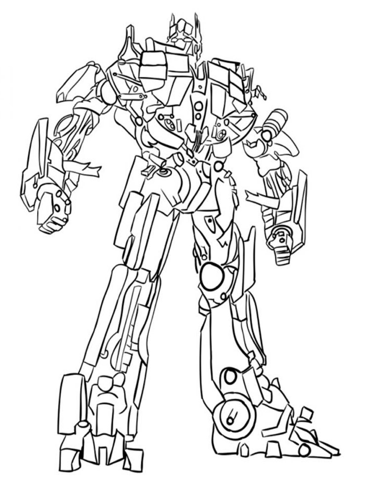 affordable optimus prime coloring pages printable with
