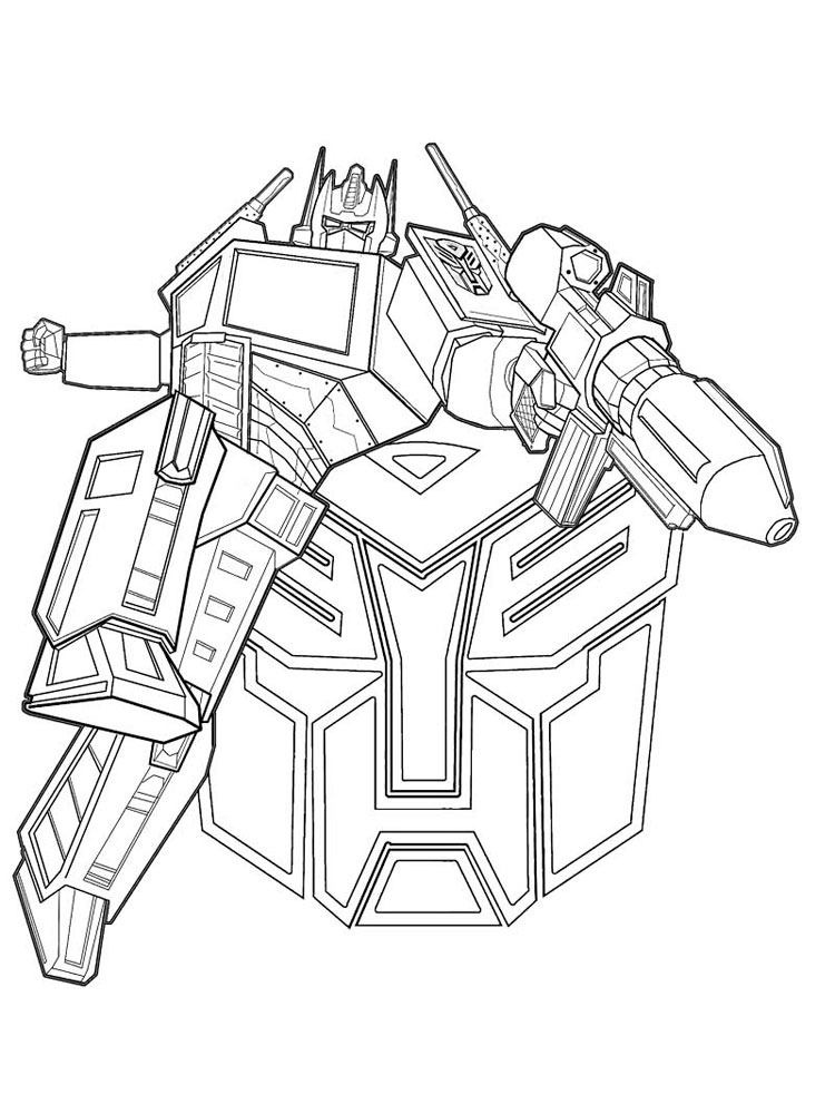 Optimus Prime Coloring Page Optimus Prime Coloring Page 23 ... | 1000x750