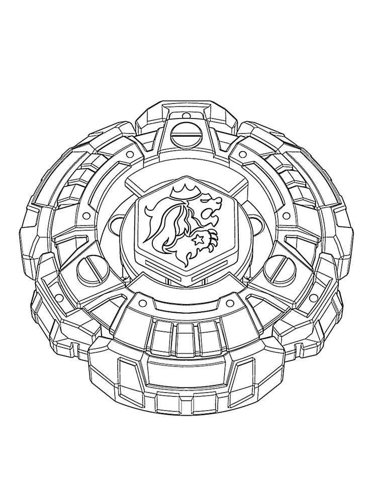 pegasus beyblade coloring pages for boys 1 - Beyblade Metal Fury Coloring Pages