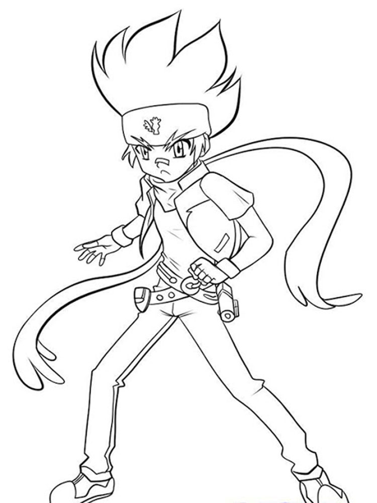 pegasus beyblade coloring pages for boys 10 - Beyblade Coloring Pages