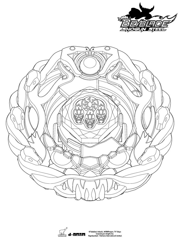beyblades pegasus coloring pages - photo#13