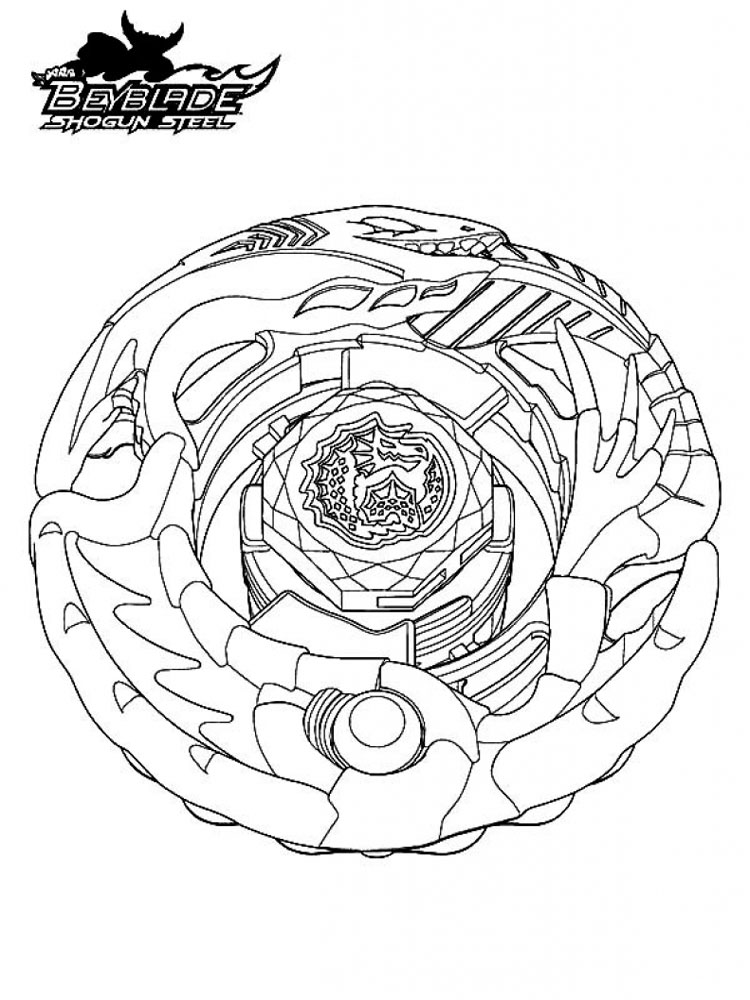 beyblades pegasus coloring pages - photo#24