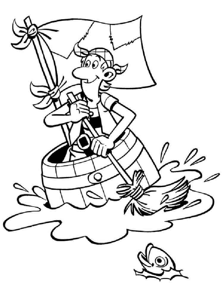 Pirates Coloring Pages Download And Print Pirates
