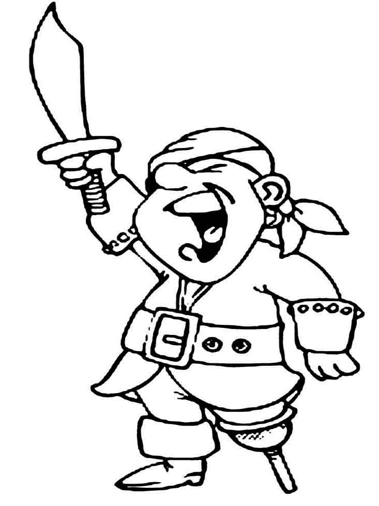 Pirates coloring pages Download