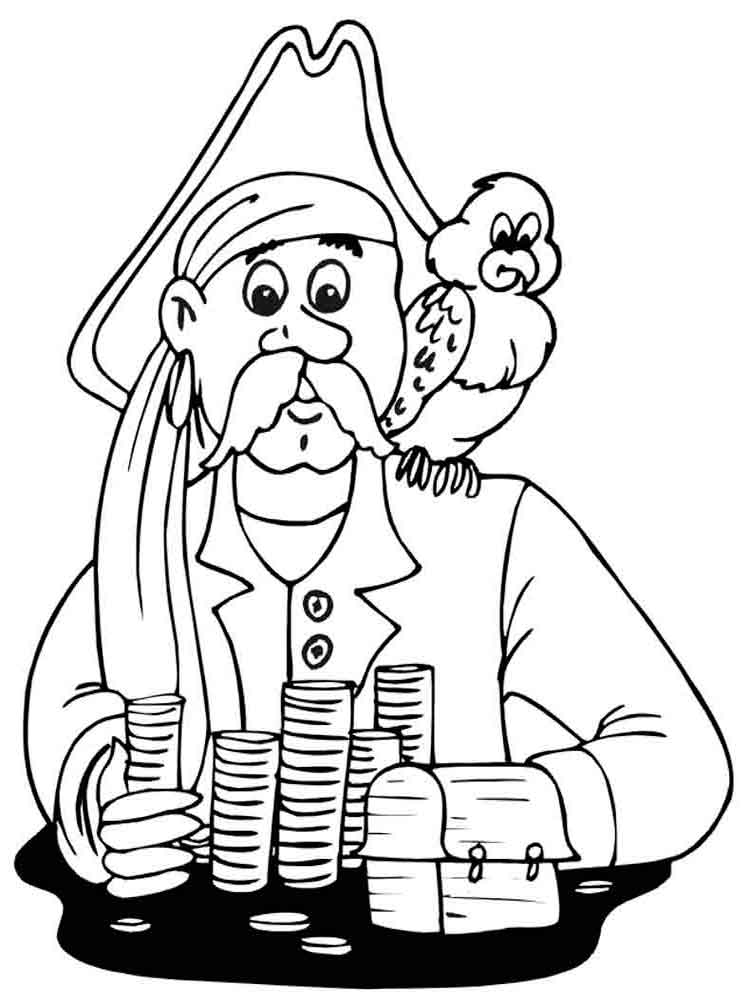 Pirates coloring pages Download and print pirates coloring pages