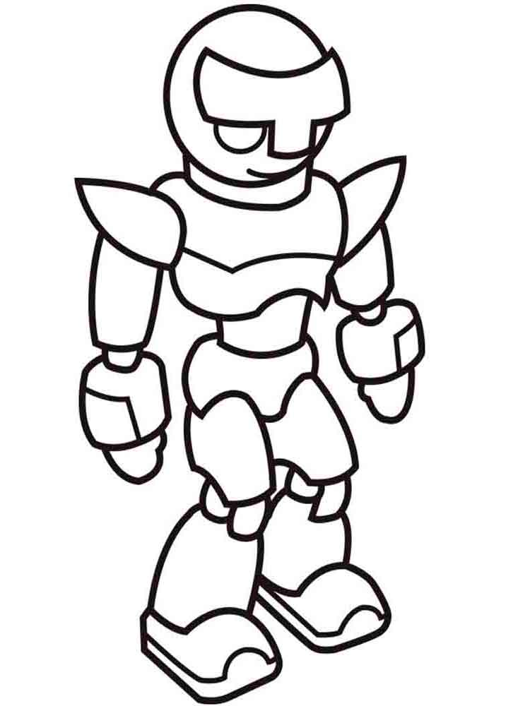 Robots coloring pages Download and print robots coloring pages