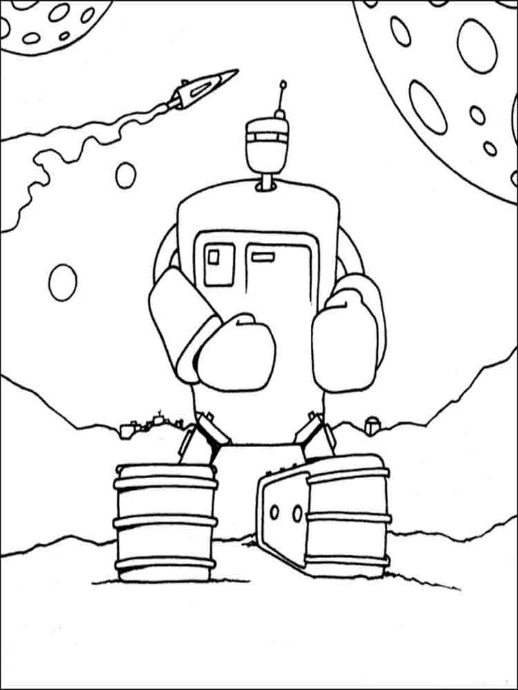 Robots coloring pages. Download and print robots coloring ...