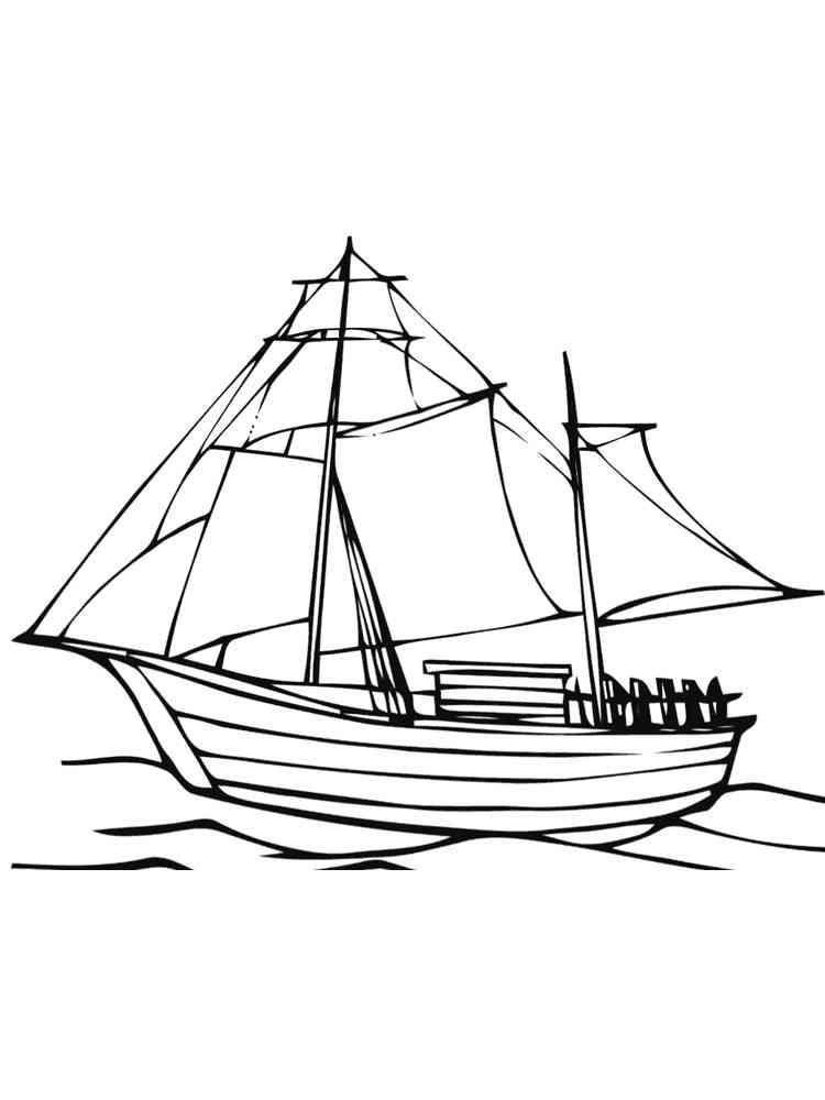 sailboat coloring pages free printable sailboat coloring