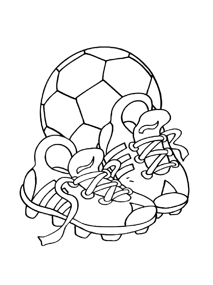 coloring pages for boys soccer - photo#19