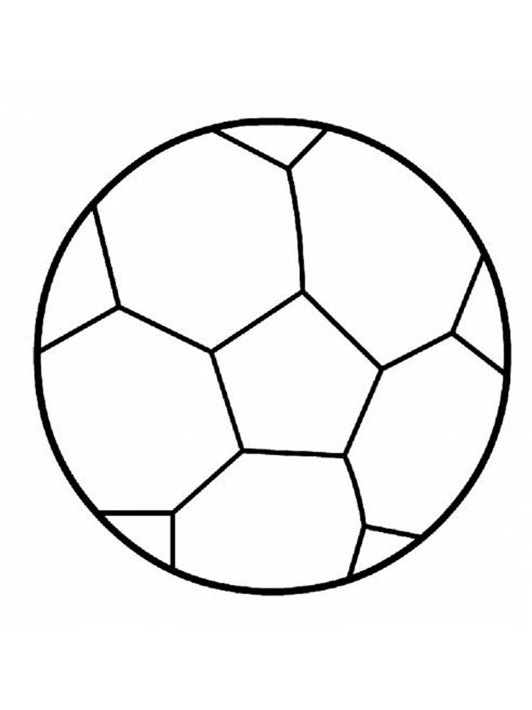 Coloring Pages Of Soccer Balls Best Coloring Page Soccer Ball