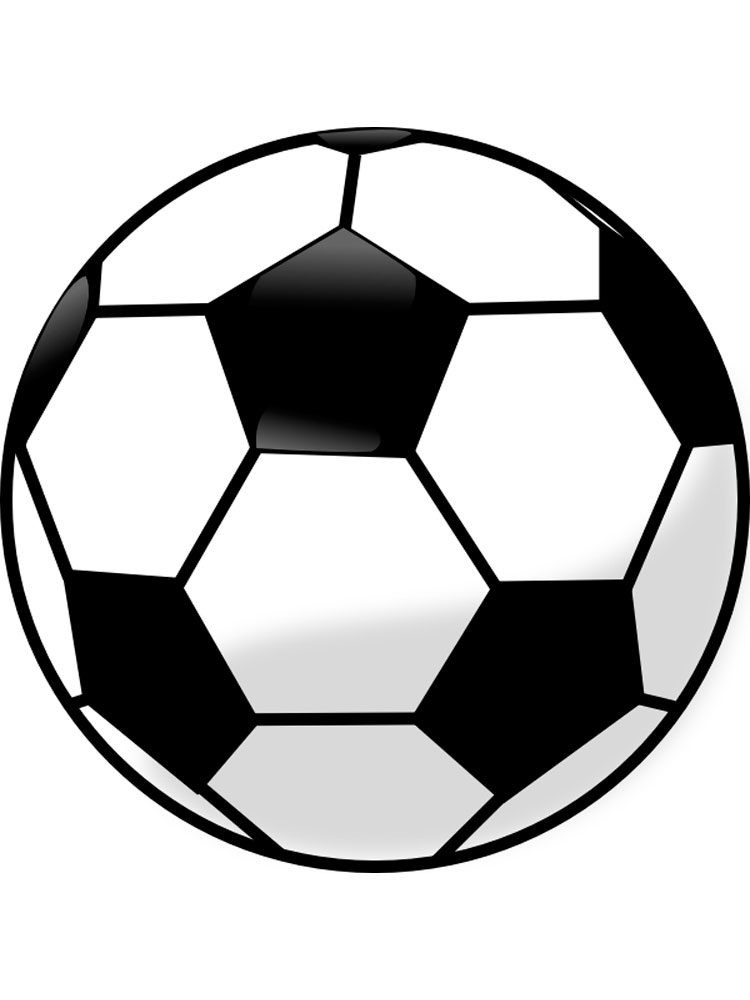 Soccer Ball coloring pages Free