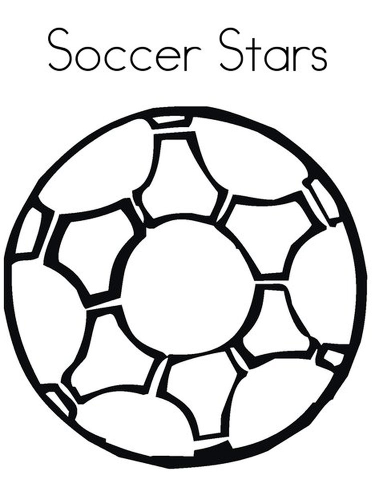 Soccer ball coloring pages free printable soccer ball for Soccer coloring pages for kids
