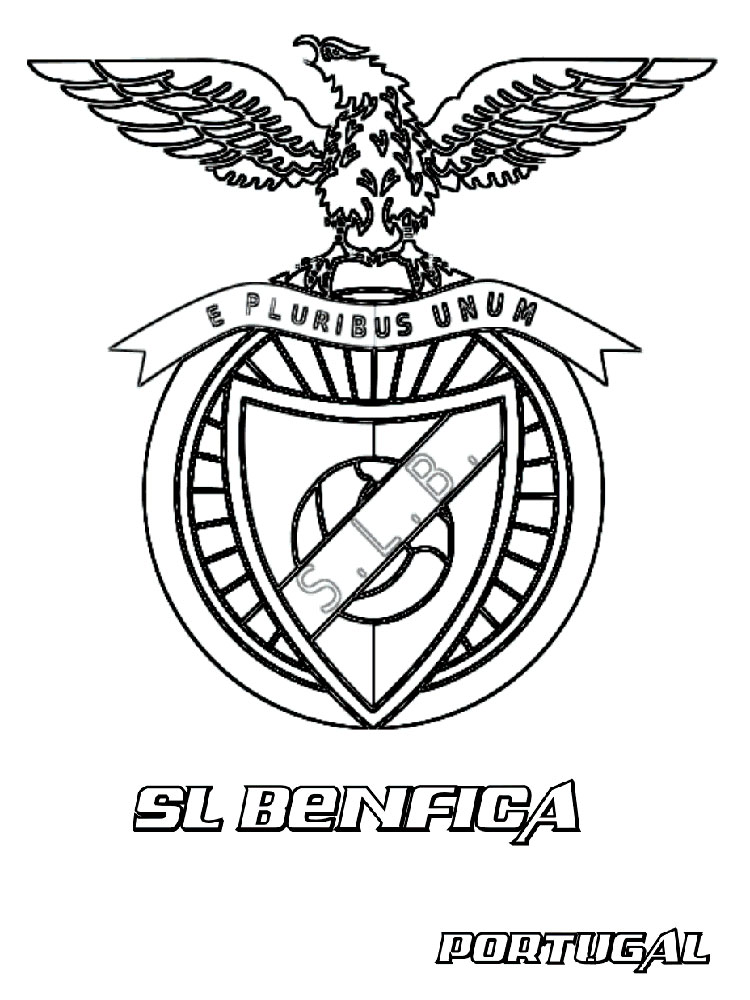Soccer Logos coloring pages Free