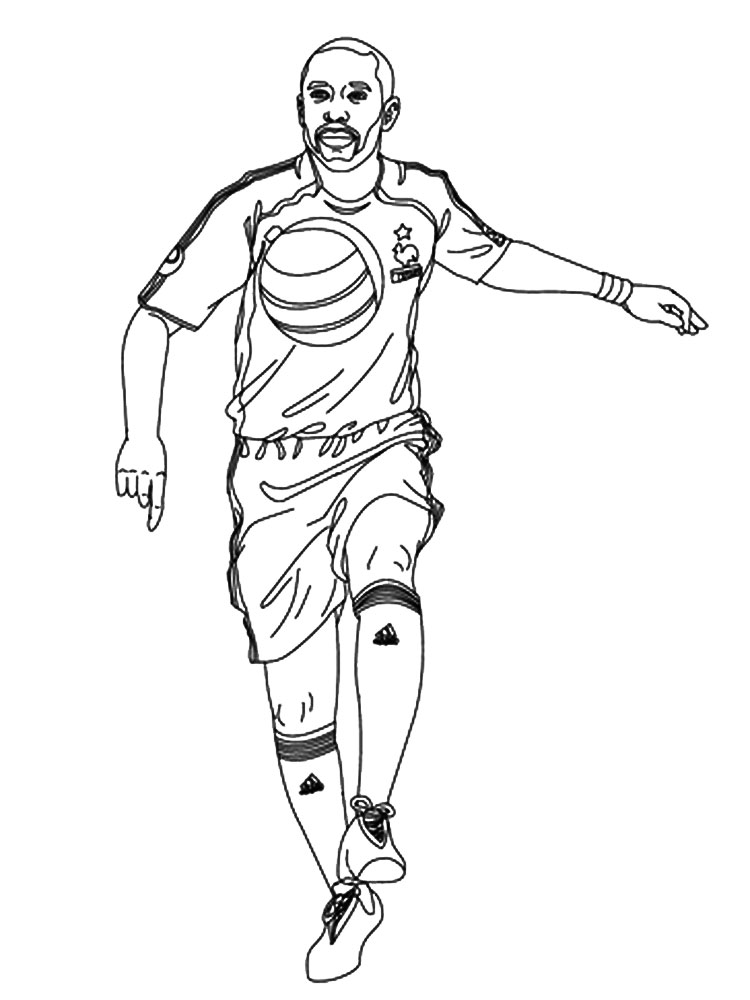 coloring pages for boys soccer - photo#24