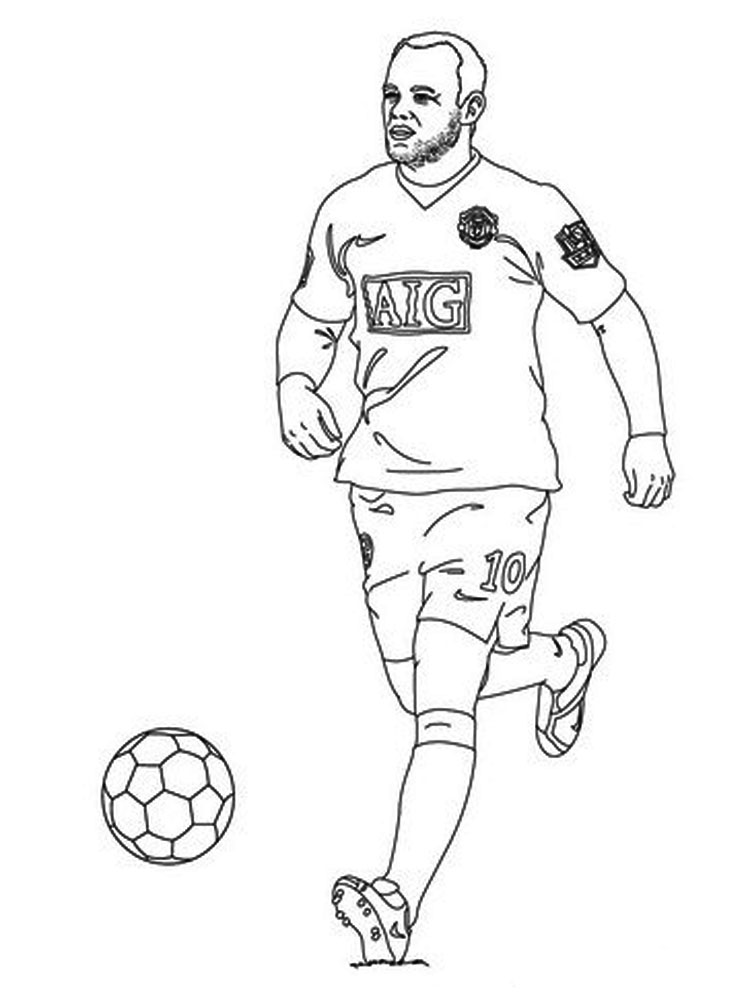 coloring pages for boys soccer - photo#14