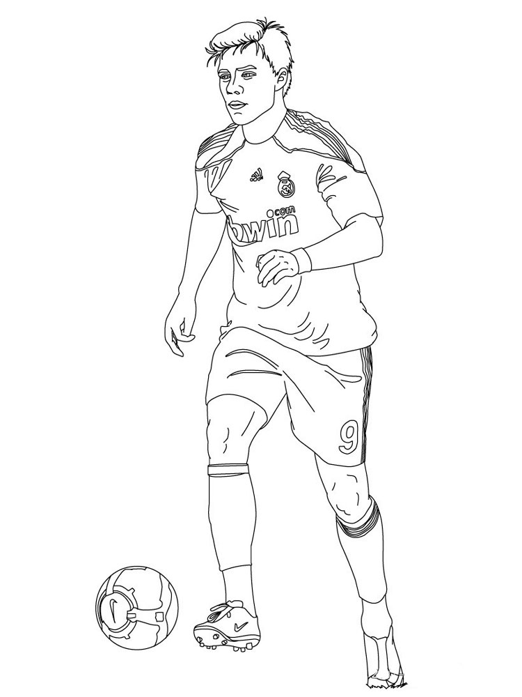 coloring pages for boys soccer - photo#9