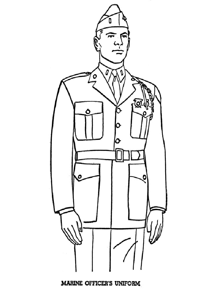 soldier coloring pages for boys 13 - Soldier Coloring Pages