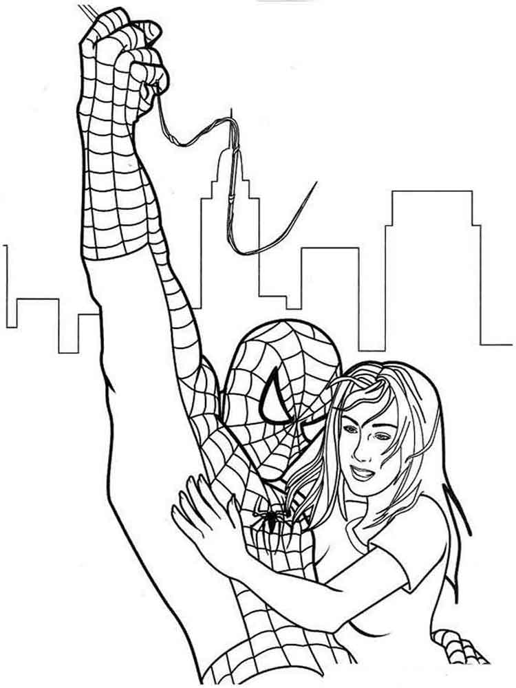 Spider Man Coloring Pages Download And Print Spider Man