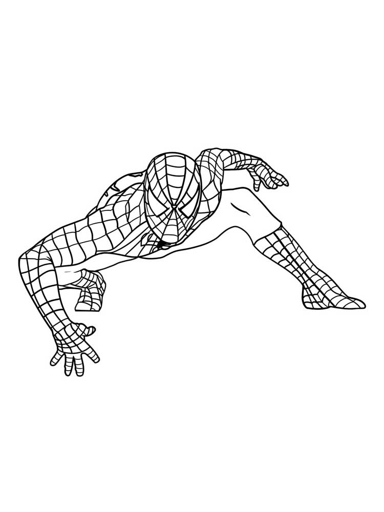 Spider man coloring pages. Download and print Spider man coloring pages
