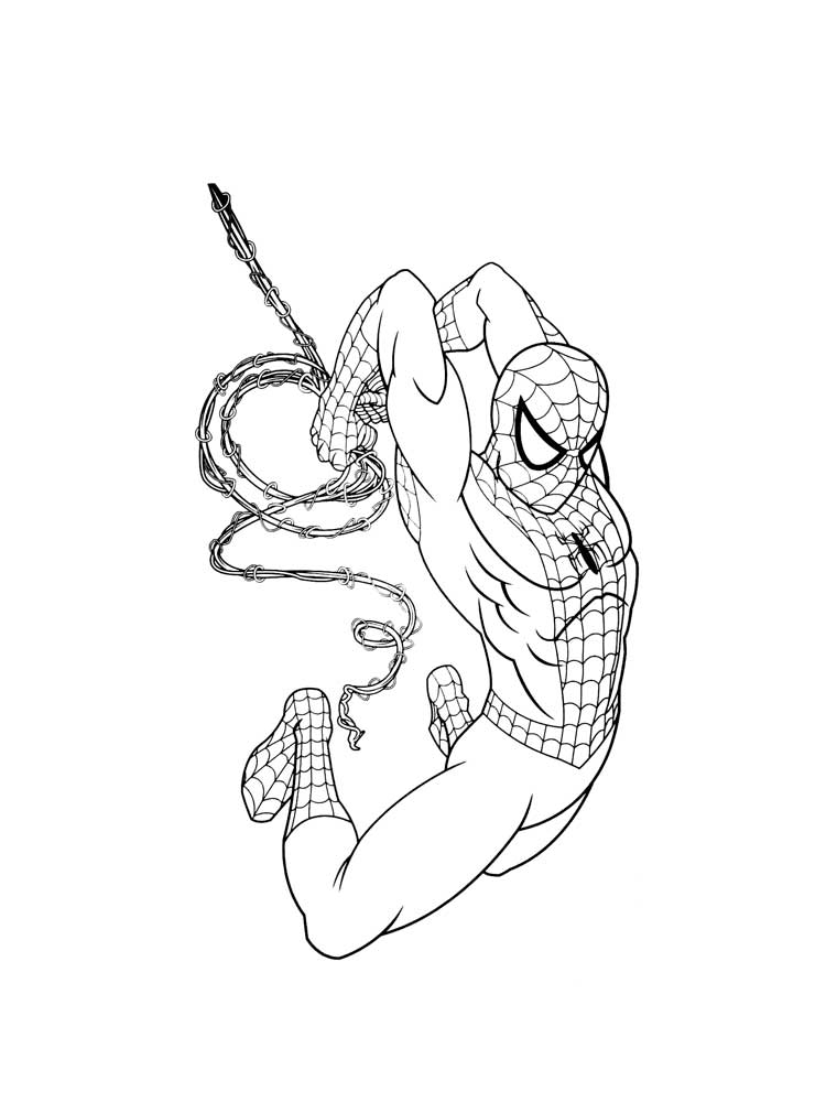 Spider man coloring pages. Download and print Spider man ...