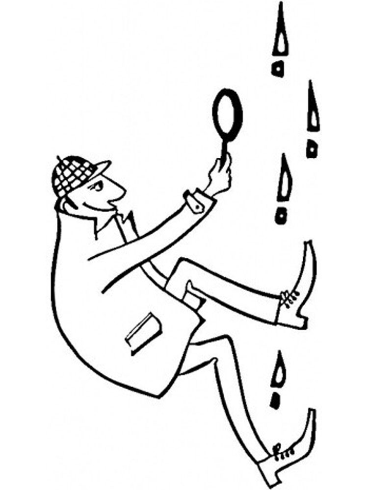It is a photo of Revered Spy Coloring Pages