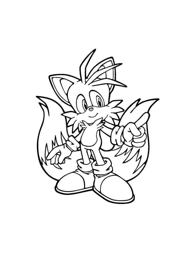sonic riders coloring pages | Original project: Sonic Free Rider ... | 1000x750