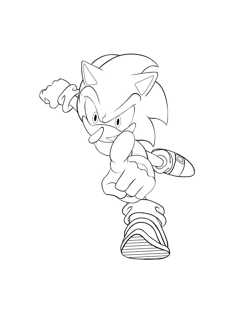 Super Sonic Coloring Pages. Free Printable Super Sonic Coloring Pages.