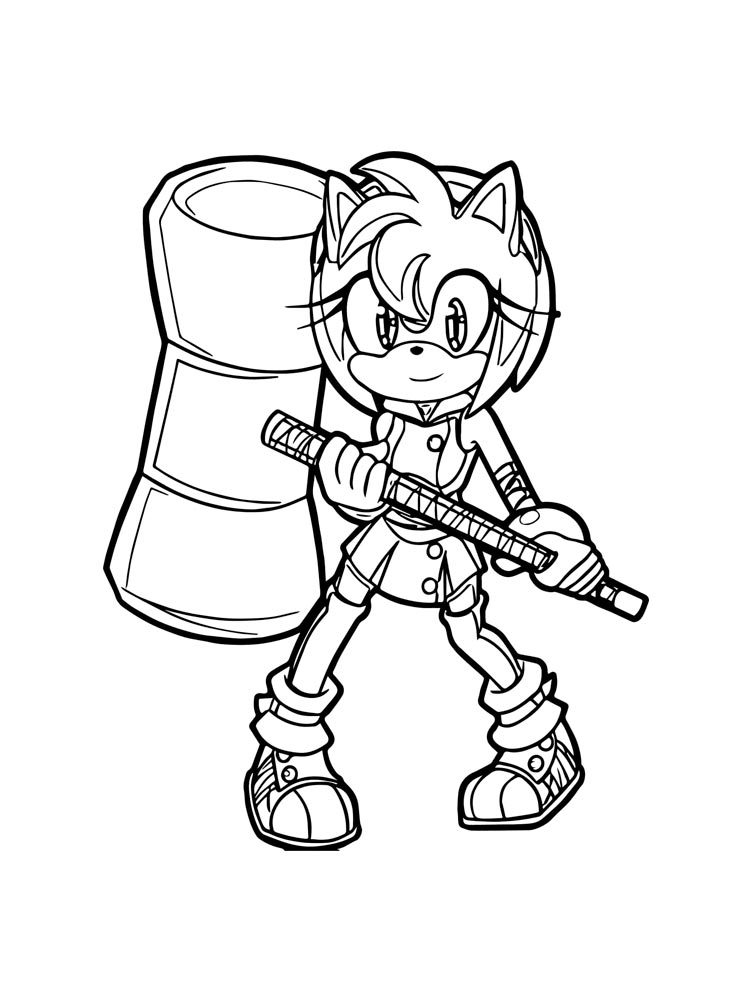 Super Sonic coloring pages. Free Printable Super Sonic ...