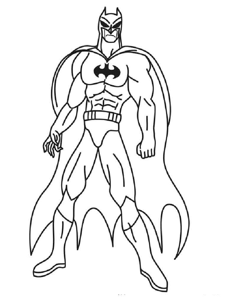boy superhero coloring pages - photo#38