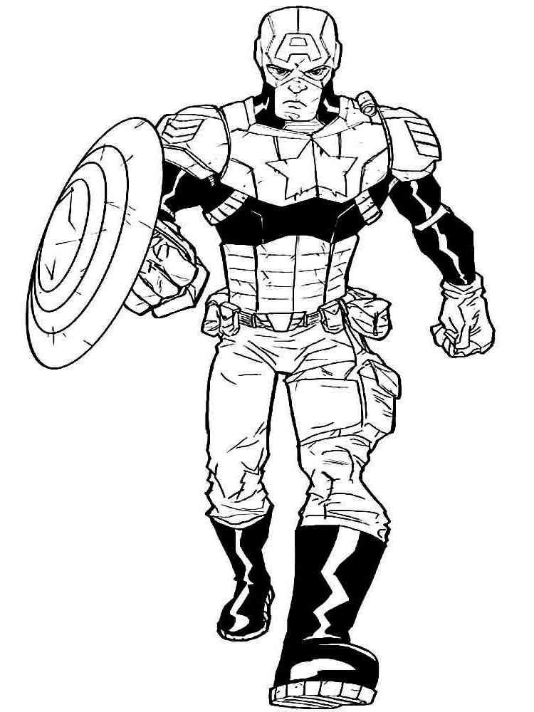 Superheroes Coloring Pages Free Printable Superheroes