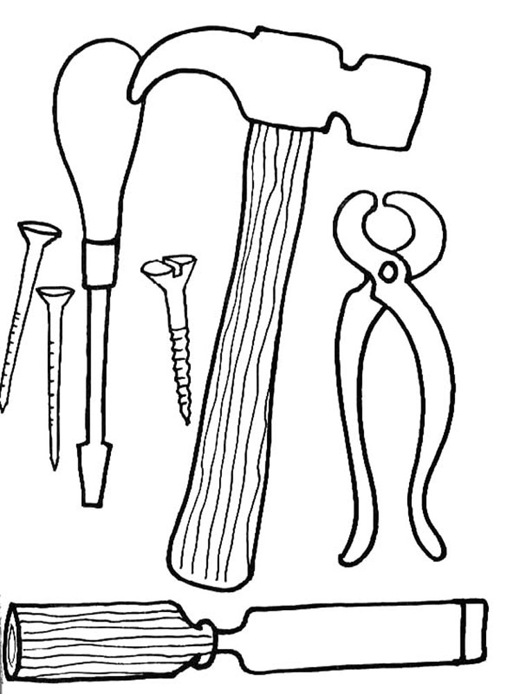 construction vehicles coloring pages construction tools coloring pages