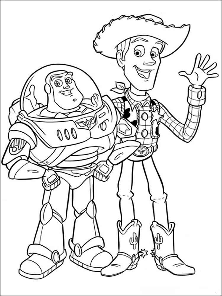boy coloring pages printable - free printable toy story coloring pages